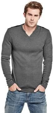 GUESS Men's Avalon Slit Sweater