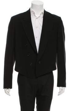 Ann Demeulemeester Open Front Wool Jacket