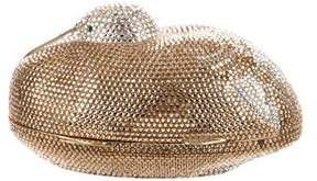 Judith Leiber Crystal Embellished Duck Minaudiere