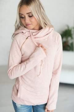 Ampersand Avenue DoubleHoodTM Sweatshirt - Blush