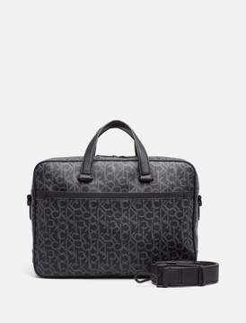 Calvin Klein monogram laptop bag