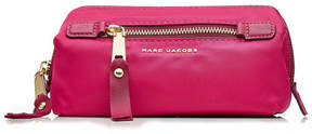 Marc Jacobs Fabric Pouch with Logo - MAGENTA - STYLE