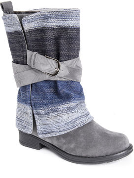 Muk Luks Nikita Womens Water Resistant Winter Boots