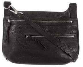 Longchamp Grained Leather Bag - BLACK - STYLE