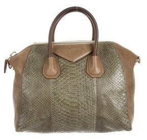 Givenchy Medium Python Antigona Bag