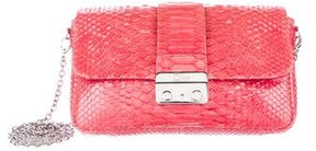 Christian Dior Python New Lock Promenade Bag