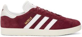 adidas Burgundy OG Vintage Gazelle Sneakers