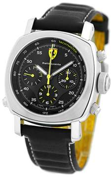 Panerai Ferrari Rattrapante FER00010 Stainless Steel & Leather Automatic 45mm Mens Watch