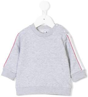 Givenchy Kids web striped sweatshirt