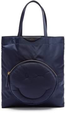 Anya Hindmarch Chubby Wink Nylon Tote Bag - Womens - Dark Blue