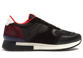 Givenchy Runner Active low-top leather and suede trainers