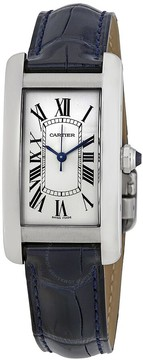 Cartier Tank Americaine Automtic Silver Dial Ladies Watch