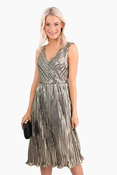 Ark & Co Gisele Pleated Dress