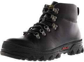 Polo Ralph Lauren Men's Hainsworth Black / High-Top Leather Boot - 9M