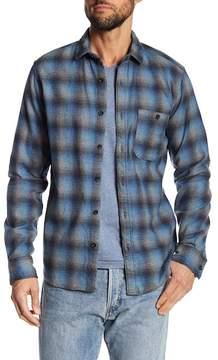 Jeremiah Delta Brushed Crepe Plaid Shirt