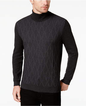 Alfani Men's Diamond Turtleneck, Created for Macy's