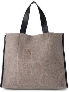 MM6 MAISON MARGIELA Grey Wool Shopper