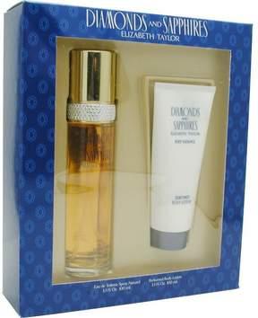 Elizabeth Taylor Diamonds & Sapphires - Set-edt Spray 3.3 Oz & Body Lotion 3.3 Oz