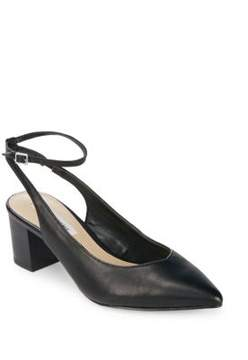 Saks Fifth Avenue Reese Leather Ankle-Strap Pumps