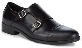 Saks Fifth Avenue Men's Leather Monk Strap Shoes