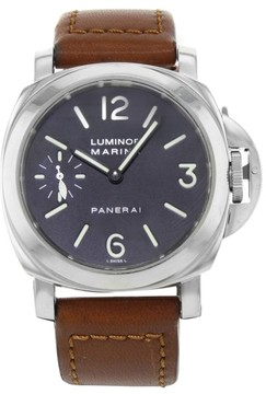 Panerai Luminor PAM00111 Stainless Steel Manual Wind 44mm Mens Watch