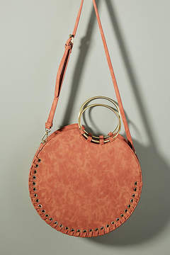 Anthropologie Marla Stitched Circle Bag