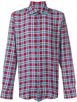 Ermanno Scervino casual checked shirt