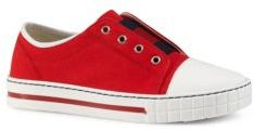 Gucci Toddler's, Little Kid's & Kid's Canvas Slip-On Sneakers