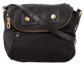 Marc by Marc Jacobs Leather-Trimmed Nylon Bag