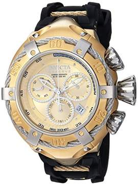 Invicta Bolt Chronograph Gold Dial Mens Watch 21352