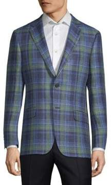 Hickey Freeman Milburn II Check Sports Jacket