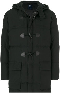 Armani Jeans hooded puffer jacket
