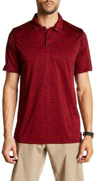 Burnside Heather Performance Polo