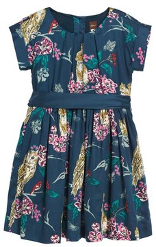 Tea Collection Toddler Girl's Caledonian Forest Sash Dress
