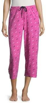 Hue Doggini Cotton Capri Pajama Pants