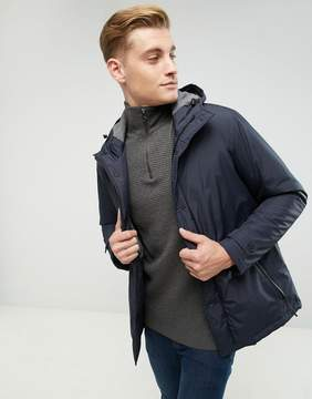 Esprit Hooded Coat With Concealed Placket