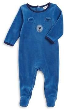Absorba Baby Boy's Cozy Bear Footie