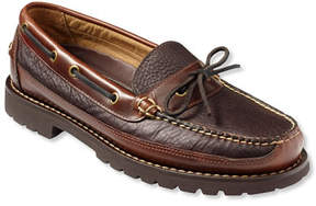 L.L. Bean Men's Allagash Bison Handsewn, One Eye Moc