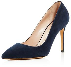 Charles David Genesis Suede Pointed Toe High Heel Pumps