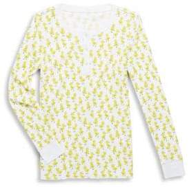 Roberta Roller Rabbit Baby's, Toddler's, Little Girl's & Girl's Chick Two-Piece Rudy the Duck Pajamas