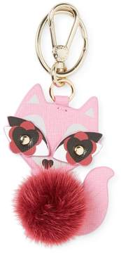 Furla Women's Real Fur Charme Cat Keyring