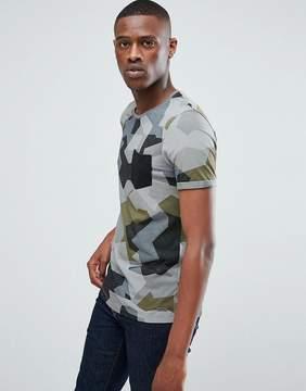 Esprit T-Shirt In Camo
