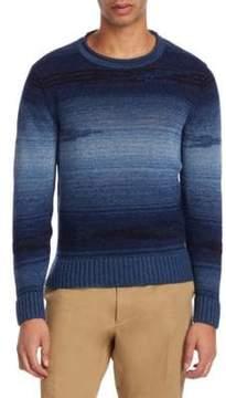 Ralph Lauren Purple Label Ribbed Knit Pullover