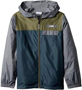 Columbia Kids Mountain Side Lined Windbreaker Boy's Coat