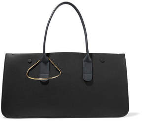 Roksanda - Louise Textured-leather Tote - Black
