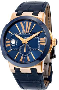 Ulysse Nardin Executive Dual Time Automatic Men's Watch