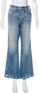 Amo High-Rise Wide-Leg Jeans w/ Tags