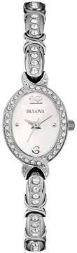 Bulova Women's Crystal Stainless Steel Watch - 96L199