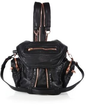 Alexander Wang Marti Mini Convertible Leather Backpack