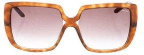 Nina Ricci Tortoiseshell Logo Sunglasses